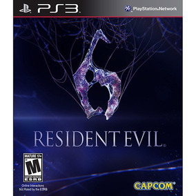 Jogo Resident Evil 6 Ps3 Midia Fisica Lacrado Nota Fiscal