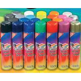 Tinta Spray I9collor Caixa Com 6 Unidades De Cores Sortidas