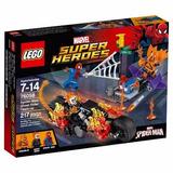 Lego 76058 217 Piezas Spiderman Ghost Rider Mejor Precio!!