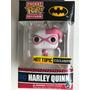 Funko Pop Harley Quinn Traje Rosa Llavero Batman Dc Comics