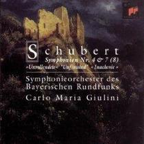 Carlo Maria Giulini Schubert Sinfonias Cd Importado