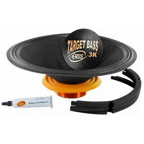 Kit Reparo Original Eros E-15 Target Bass 3.0k 4 Ohms