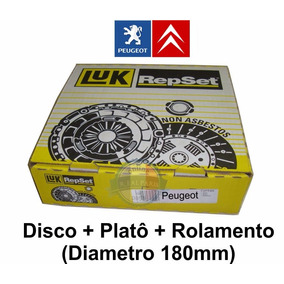 Kit De Embreagem Luk Citroen C3 1.4 8v 180mm Ate 2005
