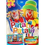 Coleção Brincando C Patati Patata Vol 2 Com 3 Dvds Novo