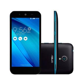 Smartphone Asus Live Tv G500tg Preto E Azul Dual Chip Tela