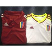 Camiseta Vinotinto Venezuela 2014-2015 Dama Caballero Niños