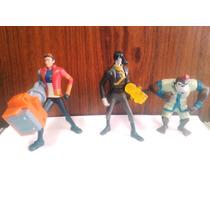 3 Bonecos Mutante Rex Brinquedos Mc Donalds Leiam Anúncio*