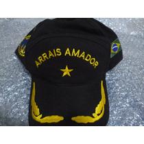 Bone Marinha/arrais Amador/marinha Brasil/chapeu Bordado