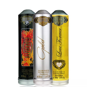 Kit 3 Perfumes Cuba 100ml Original - Escolha As Fragrâcias