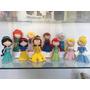 Bonecas Princesas Disney Em Feltro Por R$30,00
