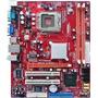 Placa Mãe Pc Chips P17g Ddr2 Fsb 1333mhz, Aceita Core 2 Duo