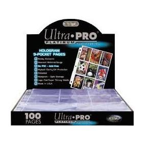 Folios Para Carpeta Ultra Pro De 9 Bolsillos