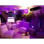Áreas Lounge, Puffs, Telas Tensadas, Decoración Y Coctelería