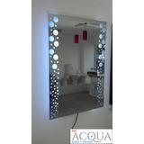 Espejos Led Modernos - Para Baños Y Diversos Ambientes