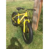 Bicicleta Mtb Fat Bike Nueva Aro 26 Con 7 Cambios