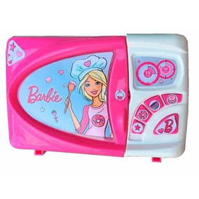 Microondas Glam Barbie Con Sonido Real Miniplay Original