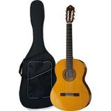 Guitarra Clásica Yamaha C40 Acústica Estuche Semiduro