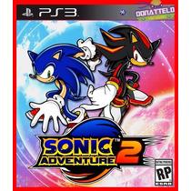 Sonic Adventure 2 - Jogo Ps3 Original Codigo Psn