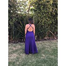 Vestido Seminuevo Color Morado O Purpura