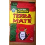 Erva Mate Chimarrão - Terra Mate - 3 Kg - 3 Pacotes