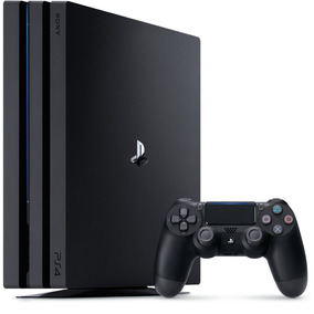 Playstation 4 Pro 1tb Sony Ps4 Pro 4k 7016b - 2 Controles