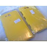 Capa Dura Em Plástico Resistente Para Lumia 820 - Amarelo