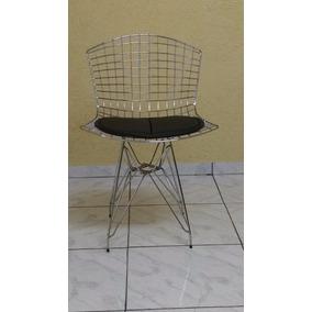 Cadeira Bertoia Dkr Aço Inox Direto Da Fabrica