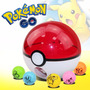 Pokemon Go! Rocket Ball, Pokebola Lanza Pokemones! En Caja!