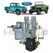 Carburador Jeep Willys F75 E Rural Dfv 6cc 100% Novo