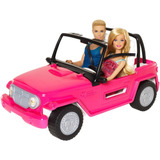 Barbie Y Ken En Su Jeep De La Playa