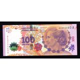 Billete 100 Pesos Evita Conmemorativo Serie A Sin Circular