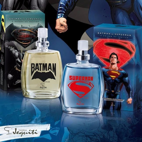Kit Perfumes Infantil Jequiti Batman Vs Superman, 2x 25ml