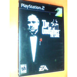 The Godfather The Oficial Game - Ps2 - Original Con Mapa