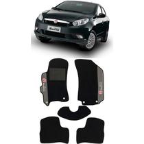 Tapete Carpete Fiat Grand Siena Preto 05 Pçs