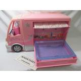 Motor Home Da Barbie Carro Onibus Casa