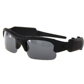 Óculos De Sol Espião Camera Espiã Hd 720p Filma Discreto E74