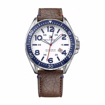 Reloj Tommy Hilfiger 1791132 Hombre Correa Cuero Oferta!