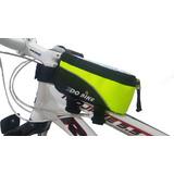 Alforja Bolso Delantero Porta Celular/gps Para Bicicleta
