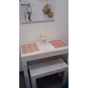 Mesa Cocina/comedor Con Banco