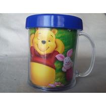 Taza Plástica Personalizada Winnie Phoo Tigger C Foto Nombre