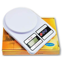 Balança Precisão Digital Sf-400 7kg Cozinha Alimentos Li@