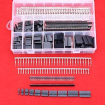 Hilitchi 515 Pcs 40 Pin 2.54mm Pitch De Una Fila Pin Cabezal