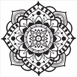 Adesivo Parede, Guarda-roupa, Geladeira - Mandala