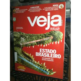 Revista Veja: Estado Brasileiro- Um Monstro Que Devora Rique