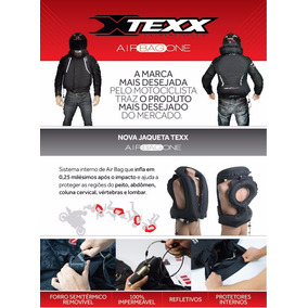 Jaqueta Texx **air Bag** + Cilindro Recarga Extra Co2