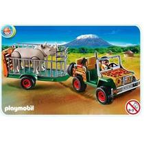 Playmobil 4832 Safari Vehiculo Con Rinoceronte