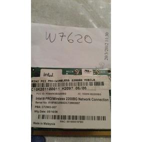 Placa Wireless Com Antena Notebook Itautec W7620