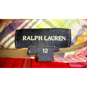 Pollera Ralph Lauren Talle 12 Original Usa