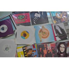 Coleção Com 32 Compactos, Anos 90, Rock E Pop, Vinil