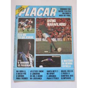Placar Nº 329 30/07/76 Poster Márco Cruzeiro Libertadores 76